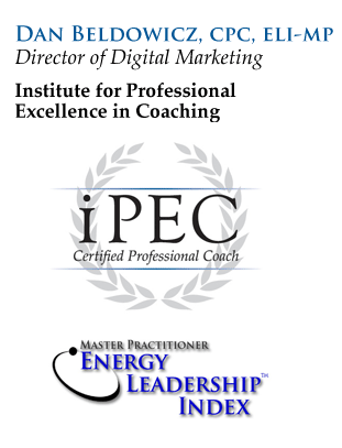 Dan Beldowicz - Certified Professional Coach and Energy Leadership Index Master Practitioner