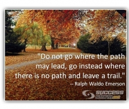Are You Following a Path, or Leaving a Trail?
